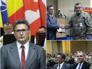 Radu Ciumașu, în cadrul festivităţii de luni, de la Bucureşti
