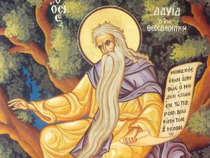 Sfântul Cuvios David din Tesalonic