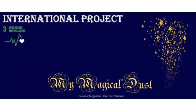 """Proiectul internaţional """"My Magical Dust"""""""