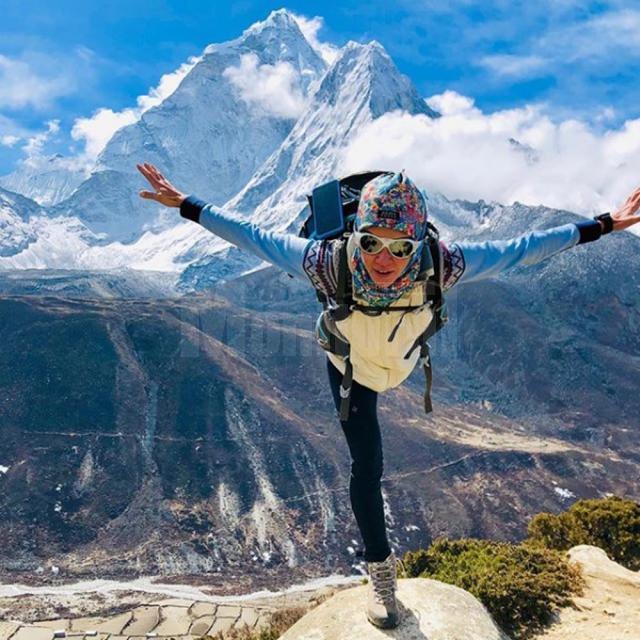 Otilia Ciotău și-a îndeplinit visul de a urca pe Everest, devenind prima româncă ce a reușit această performanță