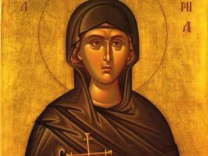 Sf. Mare Mc. Eufimia; Sf. Olga, cea întocmai cu Apostolii şi luminătoarea Rusiei