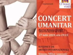 """Concert umanitar organizat de Fundaţia """"O Nouă Viaţă"""" din Siret, la Biserica Romano-Catolică din municipiul Suceava"""