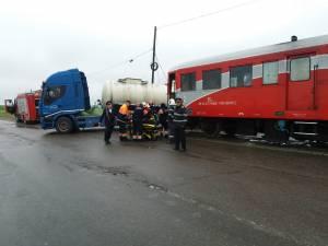 Patru persoane din automotor au fost rănite în accidentul de la Dornești