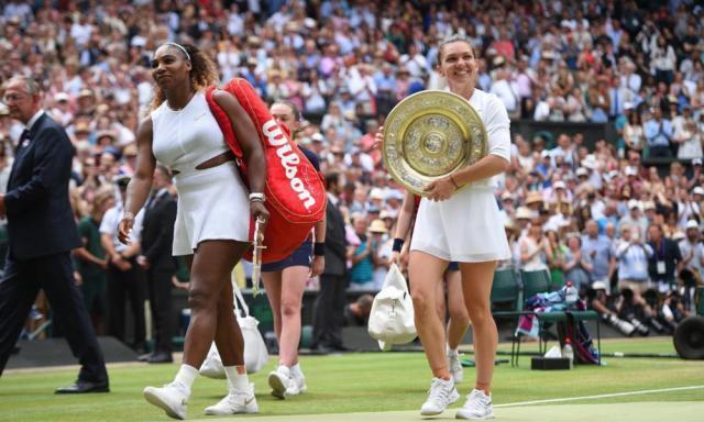 Simona Halep a câștigat turneul de Mare Șlem de la Wimbledon  Foto: digisport.ro