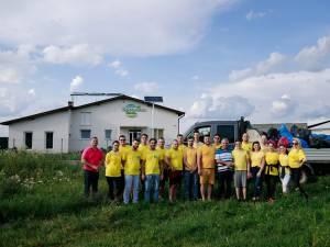 Organizația Tineretului Național Liberal Rădăuți împreună cu deputatului PNL Dumitru Mihalescul