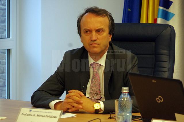 Prof. univ. dr. Mircea A. Diaconu, președintele Comisiei de Admitere de la USV