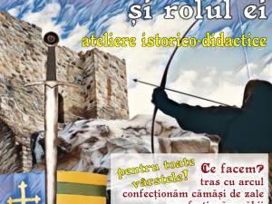Atelierul istorico-didactic Arma medievală și rolul ei, la Cetatea de Scaun
