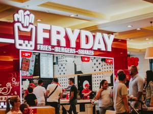 Fryday, noul restaurant din food court Iulius Mall Suceava
