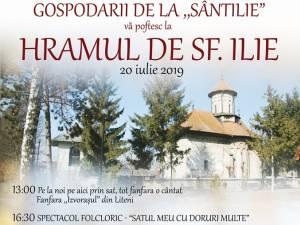 Spectacole folclorice, sâmbătă, în satul Sf. Ilie