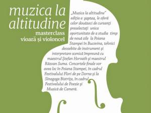 "La Poiana Stampei, master class-ul ""Muzica la altitudine"""