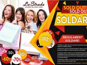 """""""La Strada"""" anunţă reduceri semnificative de preţ la încălţăminte, marochinărie, blănuri, accesorii de cea mai bună calitate"""