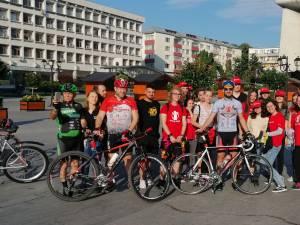 Ciclistul Constantin Lucuțar a plecat dimineață în cursa de 1000 de kilometri pe care și-a propus să-i parcurgă în 48 de ore, în scop caritabil