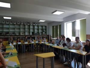 Cu elevii de la Dumbrăveni, despre ce înseamnă să fii jurnalist