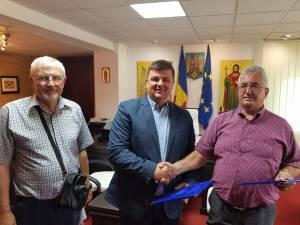 Semnarea contractului de execuție a Centrului Multifuncțional-Arta Ițcani