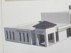 Proiectul Centrului Multifuncțional-Arta Ițcani