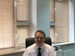 Preşedintele-director general Casei de Asigurări de Sănătate Suceava, dr. Claudiu Cobuz