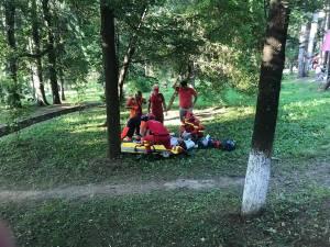 Ioan Csapai a intrat în stop cardio-respirator, iar la faţa locului a fost chemat de urgenţă un echipaj medical