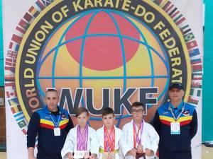 Sportivii suceveni au fost la înălţime la Campionatul Mondial de Arte Marţiale Isshin Ryu