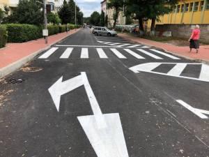 Strada Grigore Ureche din Zamca, reabilitată și modernizată