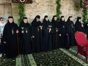 Liturghie arhierească la hramul Mănăstirii Suceviţa. Foto: Petru Palamar