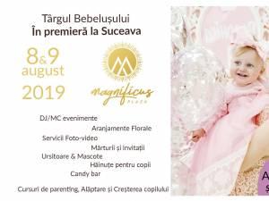 Târgul Bebeluşului are loc joi şi vineri, la Magnificus Plaza