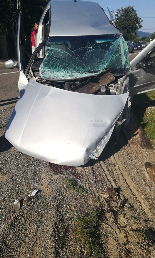 masina accident vicovu de jos1