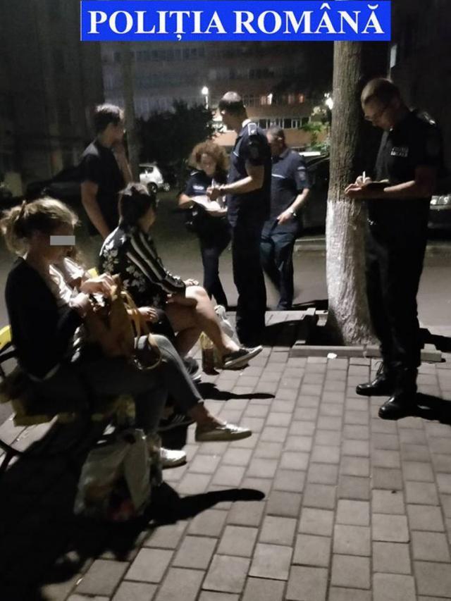 Zonele frecventate de tineri la ceas de seară, luate la puricat de poliţişti şi jandarmi