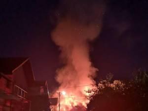 Imagine de coșmar de la locul incendiului
