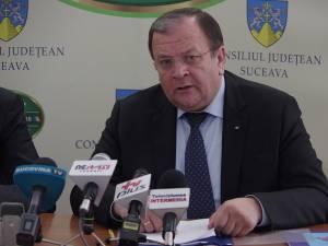 Preşedintele CJ Suceava, Gheorghe Flutur