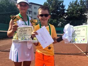 Maya Rotari şi Ştefan Morari s-au remarcat la turneul de la Botoşani