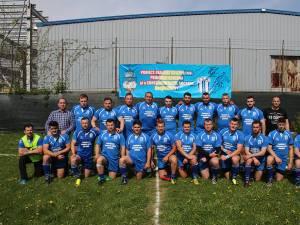 Seniorii de la CSM Suceava se pregătesc cu foştii jucători ai Sucevei din Asociaţia Sportivă Prietenii Rugby-ului din Bucovina