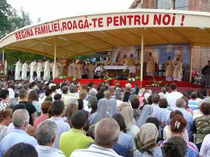 Sărbătoarea Adormirii Maicii Domnului la Sanctuarul Marian de la Cacica