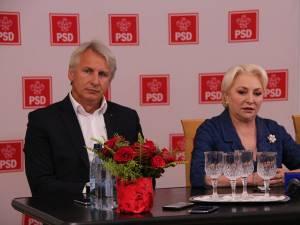 """Viorica Dancilă și Eugen Teodorovici au dat asigurări că primarii suceveni au scăpat de povara proiectului """"Utilități și mediu"""""""