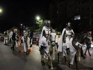 Caii și ai lor falnici călăreți au fost vedetele necontestate ale paradei