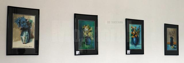 """Expoziţia """"Flori pentru Flori"""", a maestrului Radu Bercea, a fost vernisată de sărbătoarea Adormirii Maicii Domnului la Galeriile de Artă ale Muzeului de Artă """"Ion Irimescu"""" din Fălticeni Radu Bercea"""