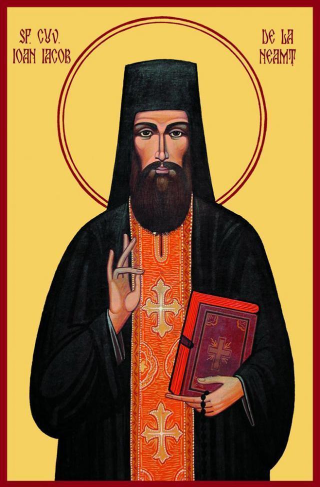 Nevoința de șapte ani a Sfântului Ioan Iacob de la Neamț – la 30 de metri înălțime deasupra unui pârâu