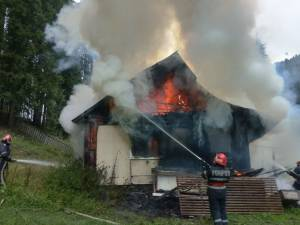 Incendiul a fost violent