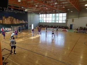Universitarii au avut două meciuri de pregătire cu echipe din Liga Natională, CSM Făgăraș și CSM Reșița