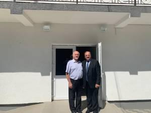 Gheorghe Flutur a fost prezent la inaugurarea noului sediu al Primăriei Bunești