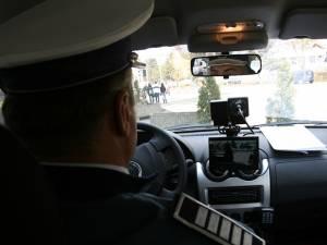 Şoferul a depăşit limita din localitate cu de 76 de km/ h