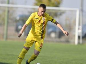 Sebastian Nechita a punctat din nou pentru naţionala de juniori a României