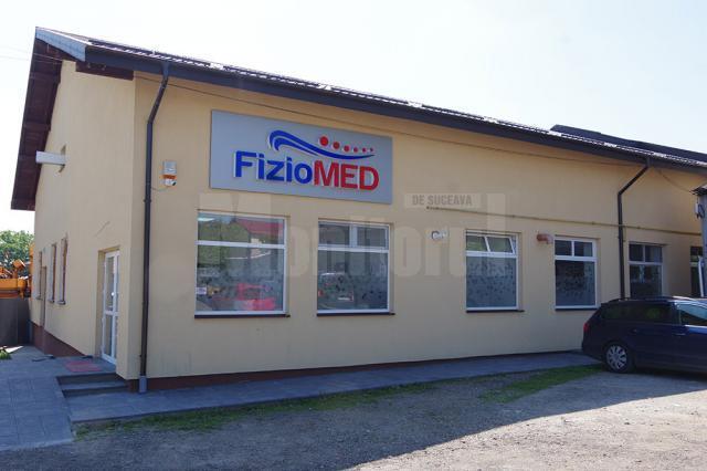 Sediul Fiziomed de pe strada Petru Rareş din municipiul Suceava