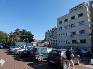 Start pentru amenajarea primei parcări supraterane din Suceava, lângă sediul Primăriei