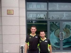 Vlad Hazi și Andrei Pișta au arbitrat la Gothia Cup, în China