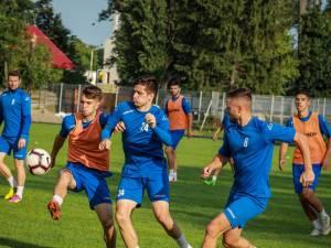 Radăuțenii s-au pregătit intens în această vară pentru viitorul sezon al Ligii a III-a.  Foto: Cristian Plosceac