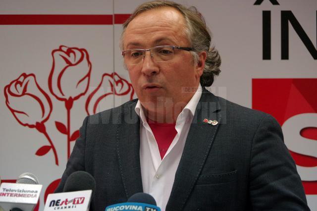 Preşedintele Organizaţiei Municipale Suceava a PSD, Dan Ioan Cuşnir