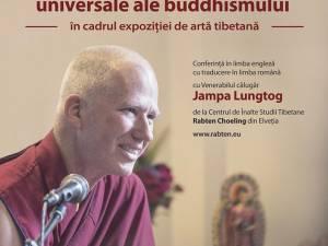 """Conferința """"Cultura tibetană și valorile universale ale buddhismului"""", la Muzeul de Istorie"""