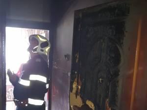 Explozie la o garsonieră din Burdujeni