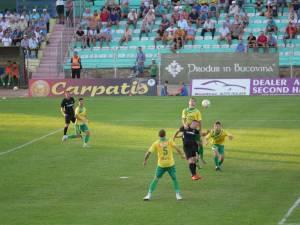 Foresta s-a impus cu 3 - 0 în fața Bucovinei Rădăuți