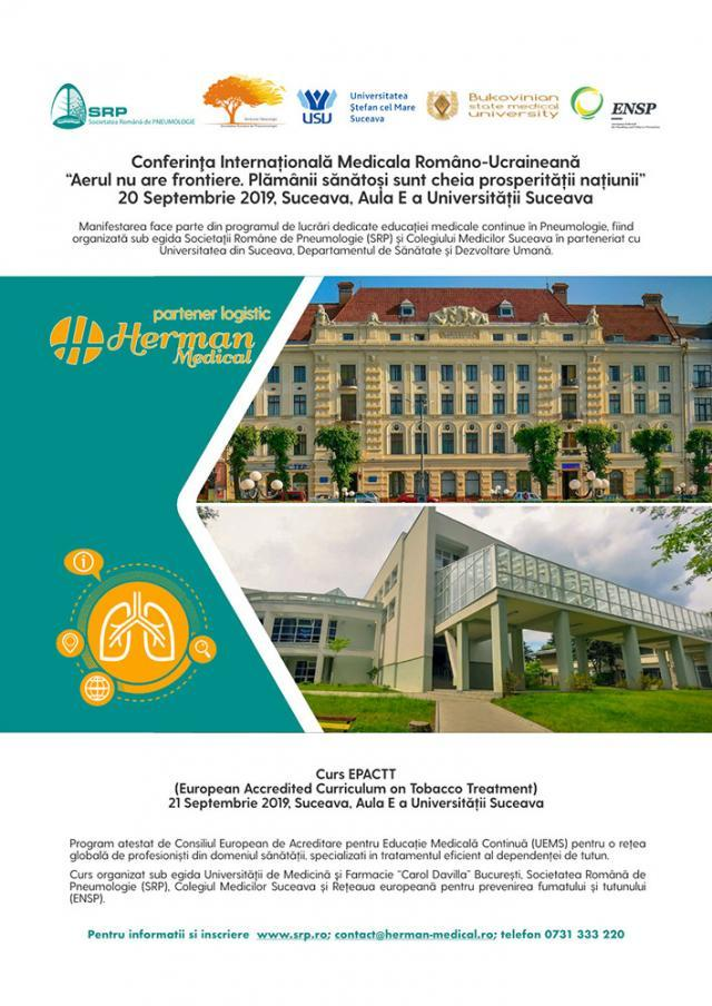 Conferinţă Medicală Româno-Ucraineană despre diagnosticul şi tratamentul afecţiunilor pulmonare